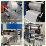 Automatic High Speed Printing Embossing Napkin Paper Folding Machine (two colour printing, high accuracy)
