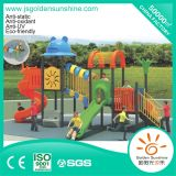 Children Plastic Outdoor Playground Amusement Equipment Slide with CE/ISO Certificate