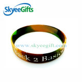 Customized and Design Colors Silicone Bracelets