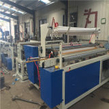 Semi-Automatic Toilet Paper Rewinding, Perforating & Embossing Machine