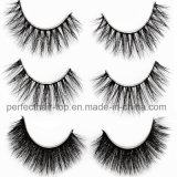 Factory Top Hair 100% Handmade Fiber 3D Synthetic Eyelashes