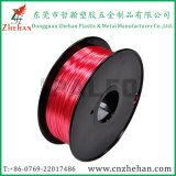 2016 Hotsell 3D Printer Filament Silk Like Polymer Composite PLA Filaments