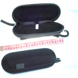 Ziipered Handle Hang Hook Stiff Stronger Eyeglasses Case