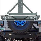 Steel Rear Bumper with Light Tire Carrier Jk