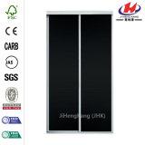 60 in. X 81 in. Chalkboard White Aluminum Sliding Door