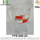 Plastic Beer Jug with Thick Handle and Pouring Lip (PFB-808-2A)