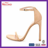 Brown Color Lady High Heeled Shoes