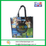 Popular Handle PP Woven Laminated Shopping Bag