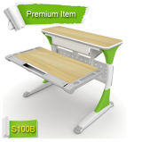 Strong and Stable Computer Table Adjustable Kids Study Table