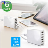Six Ports Micro USB Charger for iPad, iPhone&Galaxy S6