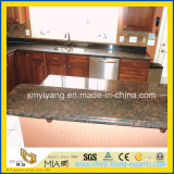 Prefab Tan Brown Granite Countertop with Backsplash