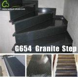 G654 Sesame Black Padang Dark Grey Granite Steps/Stairs/Treads