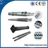 High Efficiency Barrel and Screw of Plastic Extruder