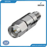 18GHz SMA Male to Female RF Coaxial Adapter for Testing