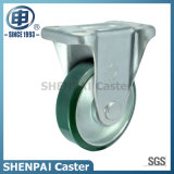 5 Inch Steel-Core PU Industrial Rigid Caster Wheel