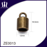Fashion Zinc Alloy Metal Cord End for Tassel