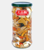 Canned Mix Mushroom in Glass with High Quality