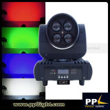 Super Brigter Mini 4X15W LED Zoom Moving Head Light