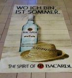 Customized Microfiber Front Side, Cotton Back Side Beach Towel
