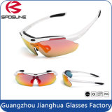 Factory Hot Sales Ce Standard High Impact Revo Lens Riding Bike Sport Sun Glasses
