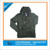 Mens Hoody Sweatshirt with Zipper Through (CW-HS-39)