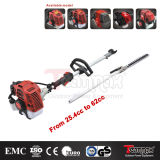43cc Gas Pole Hedge Trimmer 2-Stroke Engine
