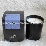 Soy Scented Gift Candles in Black Glass Jar