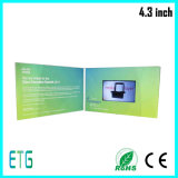 "4.3"" TFT Digital Video Business Card Supplier in Shenzhen"