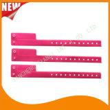 Entertainment 1 Tab Vinyl Wristbands ID Bracelet (E6070-1-12)