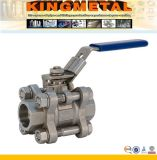 Stainless Steel 3 Piece Ball Valve with 1000wog