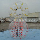 Inflatable Color Dots Bubble Football, Crazy Bubble Soccer Ball D5056