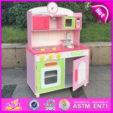 Wooden Toy Kitchen Set, Mini Wooden Kitchen Toy Set, Wooden Toy Kitchen for Children, Wooden Kitchen Set Toy for Baby W10c175