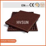 """1000*1000mm Non-Slip High Hardness Concrete Look 3/4"""" Full Body Porcelain Garden Floor Tile"""