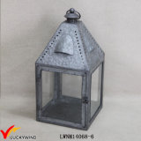 Glass Windows Metal Vintage Candle Hanging Lantern