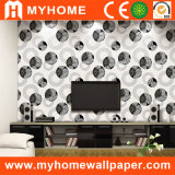 Black and White Wallcovering for Wall Decoration