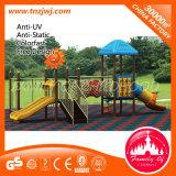 Childhood Design Slide Kindergarten Rubber Outdoor Playground