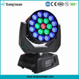 19X15W RGBW 4in1 Moving Head LED Discotheque Equipment for Stage