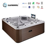 Europe Comfortable Acrylic Balboa Hydro Wholesale Massage Jacuzzi Hot Tub