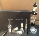 2016 Best Selling Large Size Nectar Collector Kit Quartz Tip Clear by Cangzhou Shining Glass