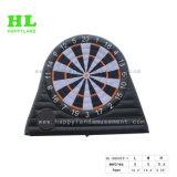 Sport Game Inflatable Soccer Foot Dart Board with Magic Tape Balls