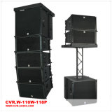 Active 10 Inch Line Array Indoor Show Sound Equipment W-110&W-118p