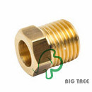 Brass Straight Reducer Fitting/Connector