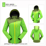 Windproof Warmer Ladies Softshell Jacket