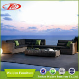 Popular Outdoor Rattan Sofa Set with UV-Resistant (DH-1035-5)