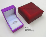 Plastic Jewelry Ring Box with LED Light