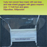 Ly Dust Mask with Eye Shield (LY-FM-E)