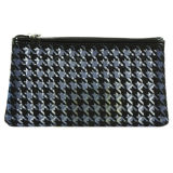 Fashion Houndstooth Pattern Hot Selling Cosmetic Bag with Big Space