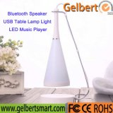 Personality USB Table Lamp Light LED Bluetooth Speaker in Home