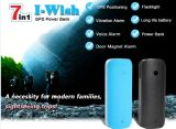 Flashlight GPS Tracker Smart for Your Traveling Security Magnetic Vibration Sound Sensor Alarm