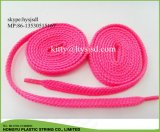 Factory Cheap Round Polyester Balck Shoelace